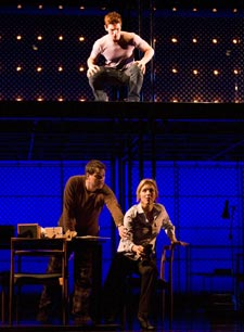 Curt Hansen, Asa Somers, and Alice Ripley