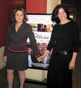 Tovah Feldshuh and Ally Sheedy