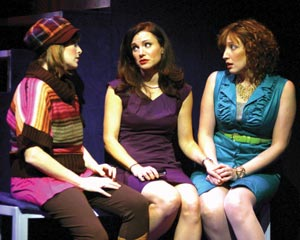 Pamela Bob, Kelly McCormick and Courtney Balan