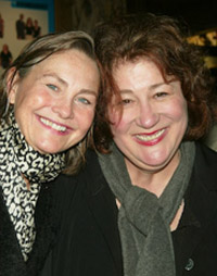 Margo Martindale (R) with Cherry Jones
