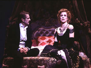 Jeremy Irons and Juliet Stevenson in A Little Night Music(Photo © Carol Rosegg)