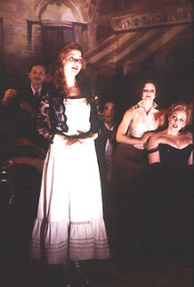 Brent Carver, Kelli O'Hara, Laura Woyasz,and Emily Skinner in My Life With Albertine(Photo: © Joan Marcus)