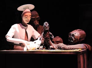 A scene from Baby Universe: A Puppet Odyssey