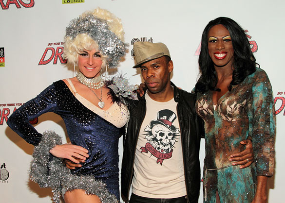 Lili Whiteass, Colman Domingo, and Terry Lavell (© Tristan Fuge)