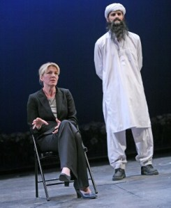 Jemma Redgrave and Daniel Rabin