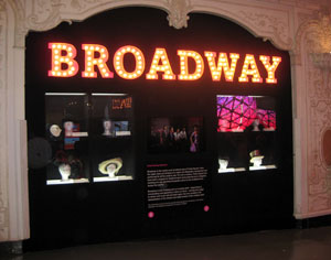 An exhibit in the new mini-museum