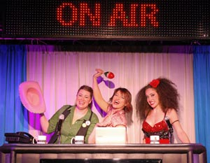 Tina Jensen, Sonya Carter, and Priscilla Fernandez