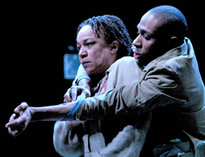 Merkerson with Mos Def in Fucking A(Photo: © Michael Daniel)