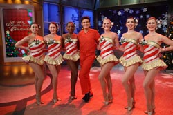 Dr. Oz with The Rockettes