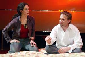 Lucia Brawley and Norbert Leo Butz in Buicks(Photo: © Joan Marcus)