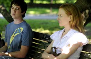 Miles Teller and Nicole Kidman in Rabbit Hole