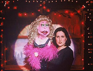 Stephanie D'Abruzzo, with Lucy T. Slut, in Avenue Q