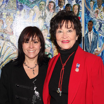 Lisa Mordente and Chita Rivera