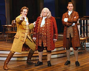 Graham Rowat, David Huddleston, and Lewis Cleale in 1776