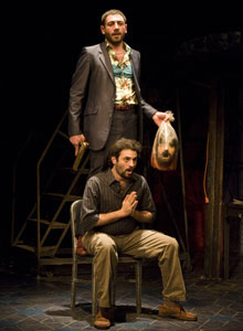 Hrach Titizian and Arian Moayed
