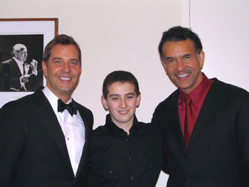 Steven Reineke, Jared Silverstein, and Brian Stokes Mitchell