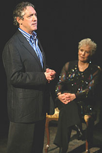 Michael Rupert and Betty Buckley(Photo: © Joan Marcus)