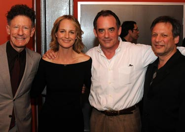 Lyle Lovett, Helen Hunt, Tom Irwin, and Ben Donenberg