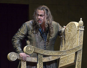 Rene Pape in Boris Godunov