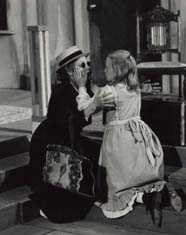 Geer with her daughter, Willow Geer-Alsop,in The Miracle Worker,