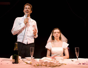 Ben Lewis and Lucinka Eisler in If That's All There Is (© Helen Maybanks)