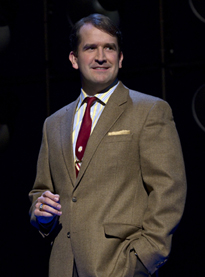james Moye in Million Dollar Quartet