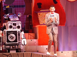 Paul Reubens in The Pee-wee Herman Show