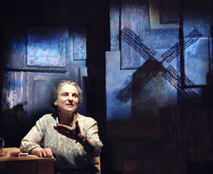 Feldshuh as Golda Meir(Photo © Aaron Epstein)