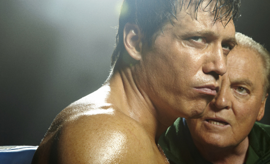 Holt McCallany and Stacy Keach in Lights Out