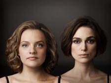 Elisabeth Moss and Keira Knightley
