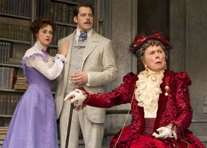 Sara Topham, David Furr, and Brian Bedford