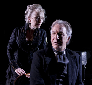 Lindsay Duncan and Alan Rickman