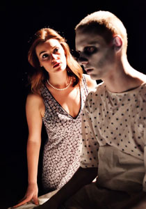 Danni Simon and Ted Caine in