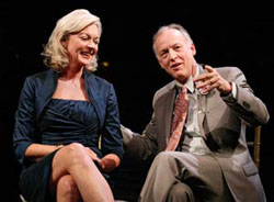 Michele Pawk and Reed Birney in A Small Fire (© Joan Marcus)