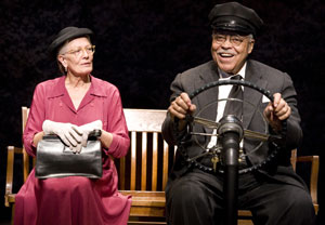 Vanessa Redgrave and James Earl Jones