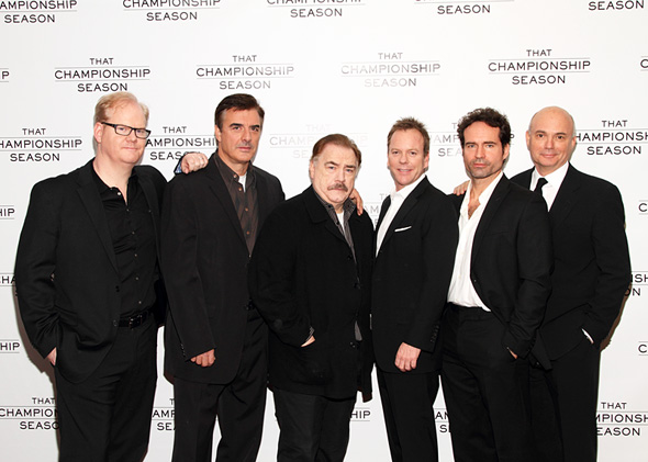 Jim Gaffigan, Chris Noth, Brian Cox, Kiefer Sutherland, Jason Patric, and Gregory Mosher