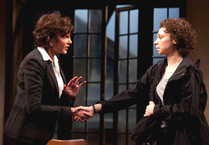 Mercedes Ruehl and Bess Rous