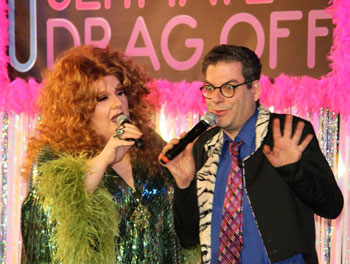 Sweetie and Michael Musto