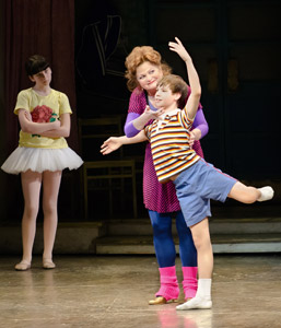 Rachel Mracna, Faith Prince, and Daniel Russell