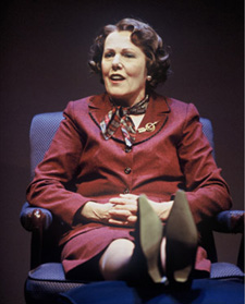 "Lynn Redgrave in ""Miss Fozzard Finds Her Feet""(Photo: © Carol Rosegg)"