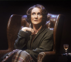 "Kathleen Chalfant in ""Bed Among the Lentils""(Photo: © Carol Rosegg)"