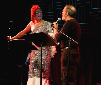 Taylor Mac and Mandy Patinkin