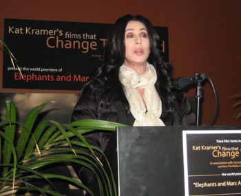 Cher (© Fred Anderson)