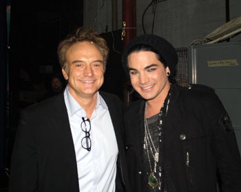 Bradley Whitford and Adam Lambert (Photo Courtesy of Broadway/L.A. - Pantages Theatre)