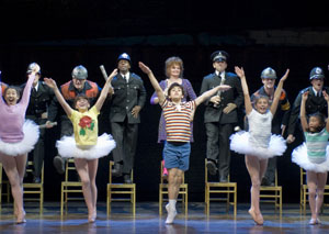A scene from Billy Elliot the Musical