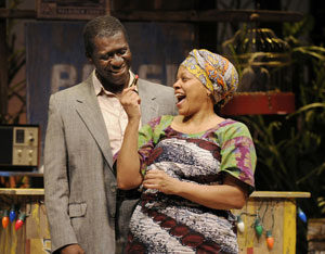 Oberon K.A. Adjepong and Tonye Patano in Ruined
