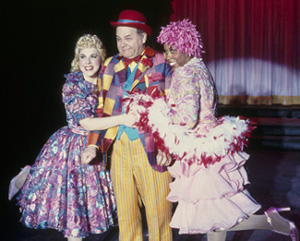 Harry Winter, Chrystyna Dail (l) and Eleasha Gamble in Follies(Photo: © Carol Pratt)