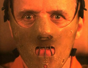 Anthony Hopkins in The Silence of the Lambs