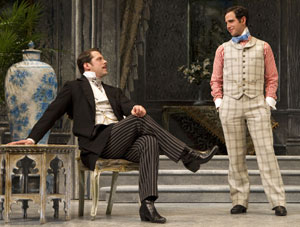 David Furr and Santino Fontana in The Importance of Being Earnest (© Joan Marcus)