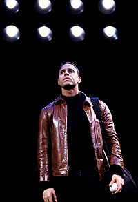 Longing for the Pulitzer that got away:Daniel Sunjata in Take Me Out(Photo: Joan Marcus)